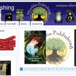 Designing the Myrddin Publishing website
