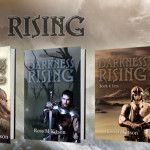 Darkness Rising: the fifth cover from the awesome epic fantasy series