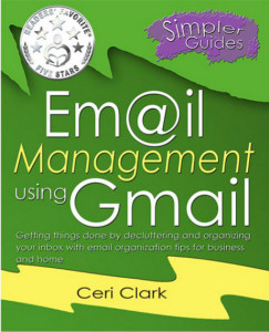 email management using gmail cover with badge