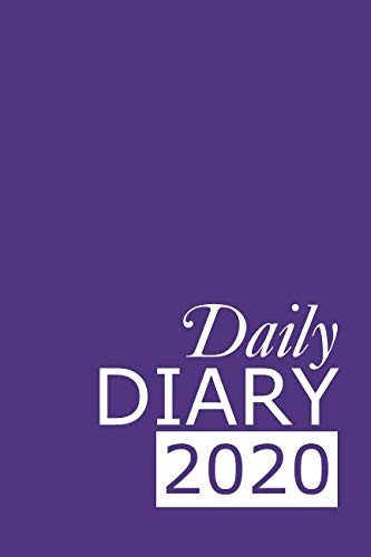 Daily Diary 2020: Purple 365 Day Tabbed Journal January – December (Clark Diaries & Journals)
