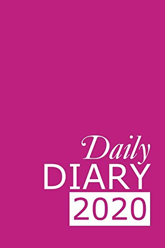 Daily Diary 2020: Pink 365 Day Tabbed Journal January – December (Clark Diaries & Journals)