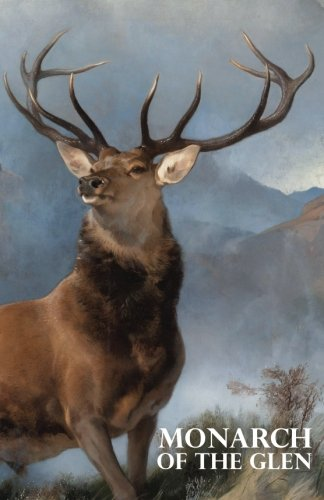 Monarch of the Glen: A discreet password book for people who love deer and Scotland (5.06″x7.81″). (Disguised Password Book Series)