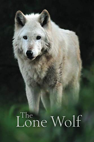 The Lone Wolf: Disguised Password Journal, Phone and Address Book for Your Contacts and Websites (Quill Contacts & Password Books)