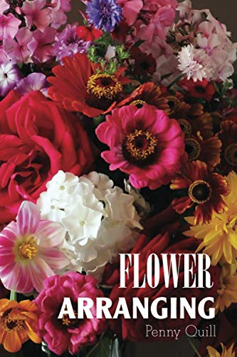 Flower Arranging: Disguised Password Book With Tabs to Protect Your Usernames, Passwords and Other Internet Login Information | Flower Design 6 x 9 inches (Quill Password Books)