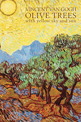 Vincent Van Gogh Olive Trees with Yellow Sky and Sun: Disguised Password Journal, Phone and Address Book for Your Contacts and Websites (Quill Contacts & Password Books)