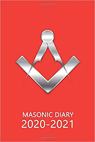 Masonic Diary 2020-2021: The 16 Month Red Freemason Diary for 2020-2021, Week to View (September 2020 to December 2021) Planner (4×6 inch) (Freemason Diaries 2020-2021)