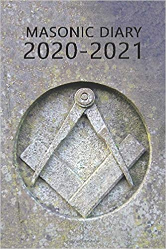 Masonic Diary 2020-2021: The 16 Month Stone Freemason Diary for 2020-2021, Week to View (September 2020 to December 2021) Planner (4×6 inch) (Freemason Diaries 2020-2021)