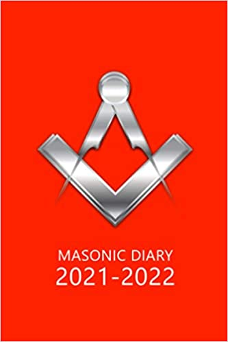 Masonic Diary 2021-2022: The 16 Month Red Freemason Diary for 2021-2022, Week to View (September 2021 to December 2022) Planner (4×6 inch)