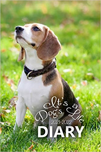 It's a Dog's Life 2021-2022 Diary: The 16 Month Mini Pocket Weekly Diary for 2021-2022, Week to View (September 2021 to December 2022) Planner (4 x 6 inch)