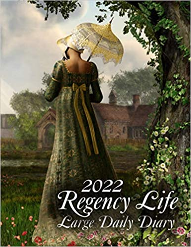 2022 Regency Life Large Daily Diary: 365 Day, Dated and Tabbed Journal January – December | Big Daily Journal 8.5 X 11 Inches (2022 Daily Diaries)