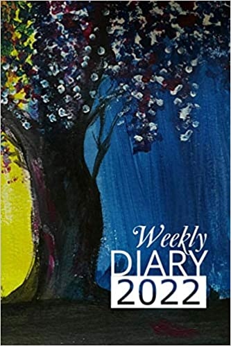 Weekly Diary 2022: 12 Month, Week To View Planner for January to December 2022 (Wisteria Edition | 6×9 inch)