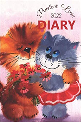 Purrfect Love 2022 Pocket Diary: The 12 Month, Week to View, Large Print Diary for January to December 2022 (4 x 6 inch)